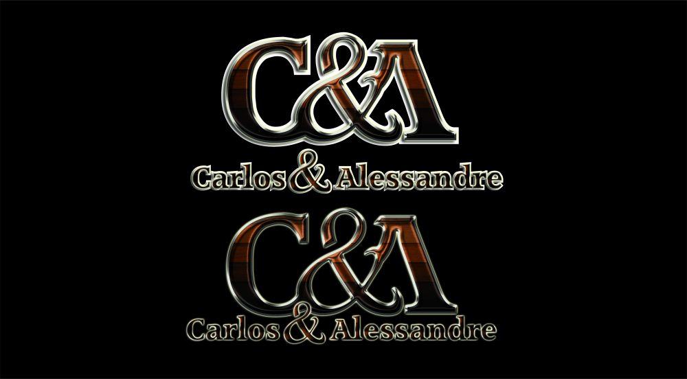 Logo Carlos e Alessandre